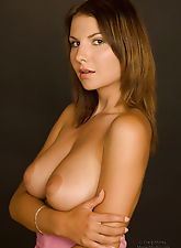 Nude studio beauty Lucy